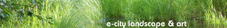 E-City Lanscape & Art banner